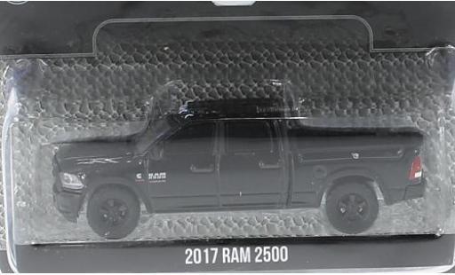 Dodge RAM 1/64 Greenlight 2500 noire 2017 sans Vitrine miniature