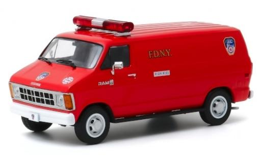 Dodge RAM 1/43 Greenlight B 150 FDNY 1983 miniature