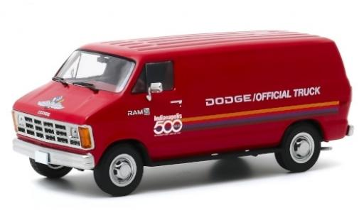 Dodge RAM 1/43 Greenlight B 150 rouge/Dekor Indianapolis 500 1987 71st Annual 500 Mile Race Official Truck miniature