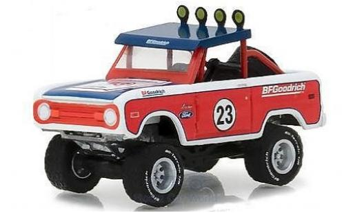 Ford Bronco 1/64 Greenlight Baja BFGoodrich Tires 1966 miniature