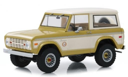 Ford Bronco 1/18 Greenlight Colorado Gold Rush gold/beige 1976 miniature