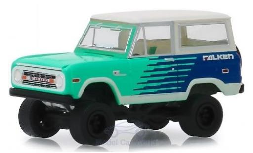 Ford Bronco 1/18 Greenlight Falken Tires 1976 miniature