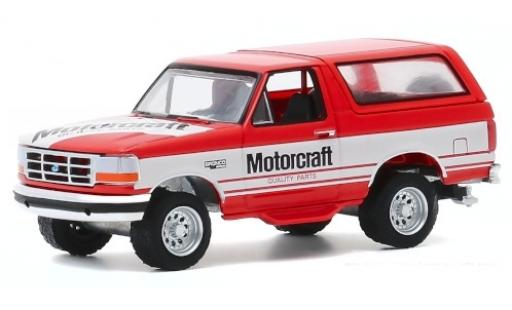 Ford Bronco 1/64 Greenlight Motorcraft Quality Parts 1994 diecast model cars