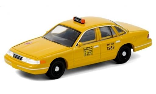 Ford Crown 1/64 Greenlight Victoria N.Y.C Taxi 1994 modellino in miniatura
