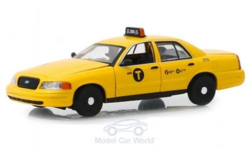 Ford Crown 1/43 Greenlight Victoria N.Y.C Taxi 2011 modellino in miniatura
