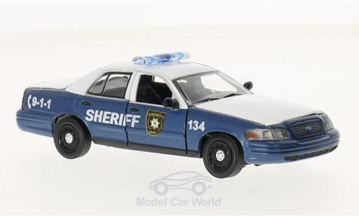 Ford Crown 1/43 Greenlight Victoria Police Interceptor blue/white The Walking Dead 2010 2001 diecast model cars