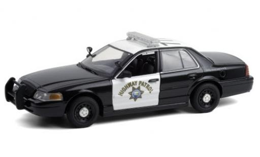 Ford Crown 1/24 Greenlight Victoria Police Interceptor California Highway Patrol 2008 miniature