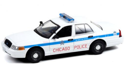 Ford Crown 1/24 Greenlight Victoria Police Interceptor Chicago Police Department 2008 diecast model cars