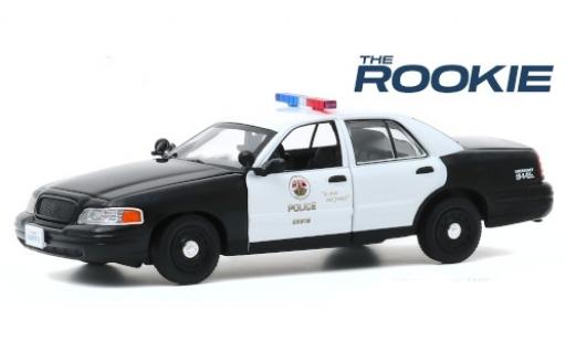 Ford Crown 1/24 Greenlight Victoria Police Interceptor LAPD - Los Angeles Police Department 2008 The Rookie miniature