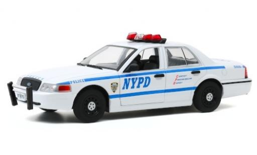 Ford Crown 1/24 Greenlight Victoria Police Interceptor NYPD - New York City Police Department 2011 miniature