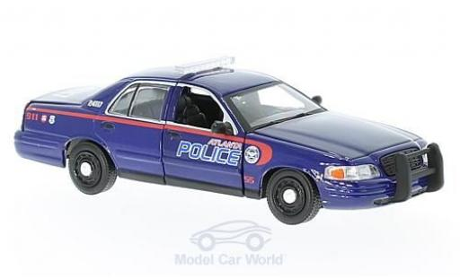 Ford Crown 1/43 Greenlight Victoria Police Interceptor The Walking Dead 2001 miniature