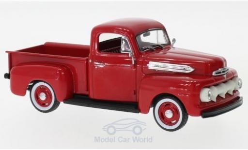 Ford F-1 1/43 Greenlight rot 1951 modellautos