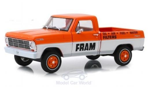 Ford F-1 1/24 Greenlight 00 FRAM 1967 miniature