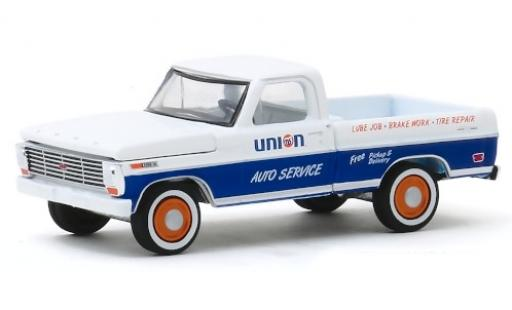 Ford F-1 1/64 Greenlight 00 Gulf 1968 miniature