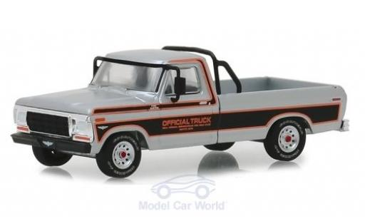 Ford F-1 1/64 Greenlight 00 Pick-Up grise Official Truck Indianapolis 500 1979 miniature