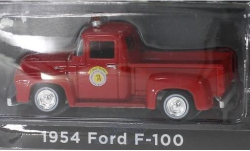 Ford F-1 1/64 Greenlight 00 rouge Public Works Arlington Heights 1954 miniature