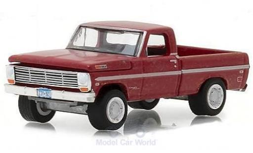 Ford F-1 1/64 Greenlight 00 red Supernatural 1969 diecast model cars