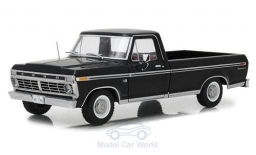 Ford F-1 1/18 Greenlight 00 noire 1973 miniature