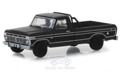 Ford F-1 1/64 Greenlight 00 noire 1975 miniature