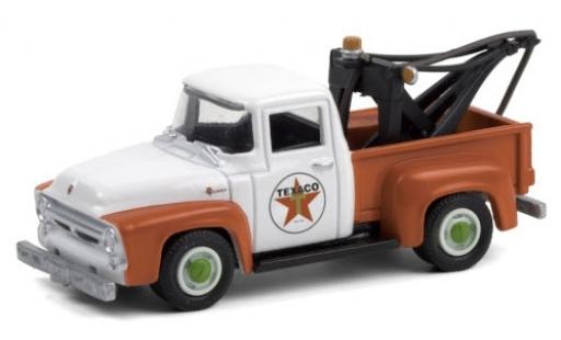 Ford F-1 1/64 Greenlight 00 Tow Truck Texaco 1956 modellautos
