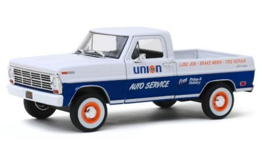 Ford F-1 1/24 Greenlight 00 Union 76 1968 modellautos