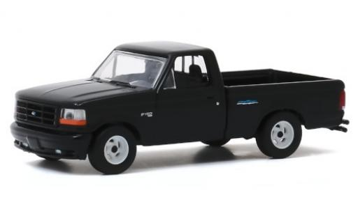 Ford F-1 1/64 Greenlight 50 Lightning noire 1993 miniature