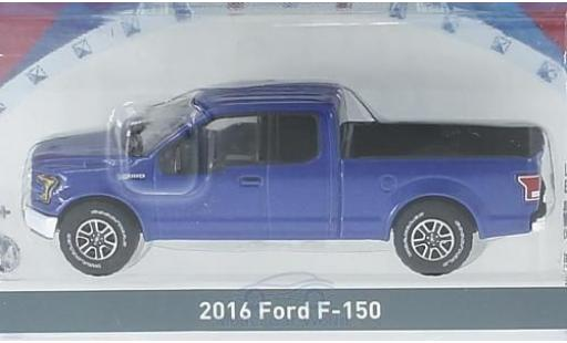 Ford F-1 1/64 Greenlight 50 metallic-bleue 2016 miniature