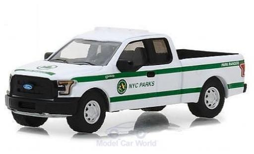 Ford F-1 1/64 Greenlight 50 NYC Parks 2016 miniature