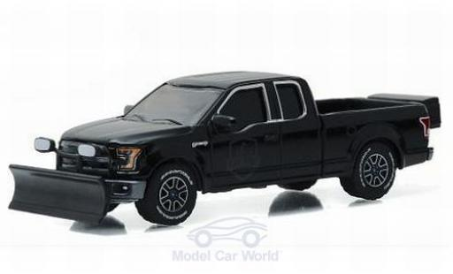 Ford F-1 1/64 Greenlight 50 noire 2015 Black Bandit - Series 16 ohne Vitrine miniature