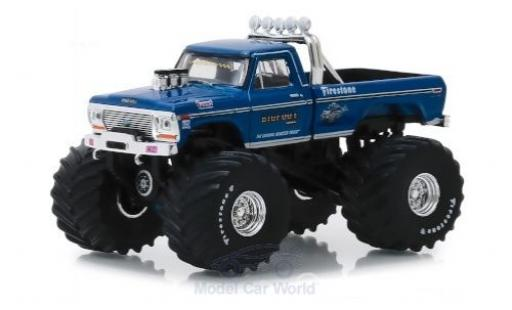 Ford F-250 1/64 Greenlight Bigfoot 1974 miniature