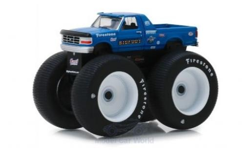 Ford F-250 1/64 Greenlight Bigfoot 1996 miniature