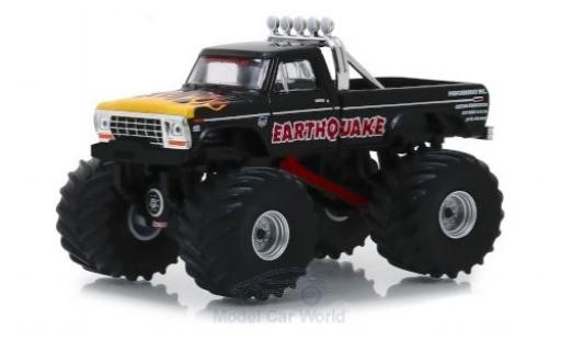 Ford F-250 1/64 Greenlight Earthquake 1975 miniature