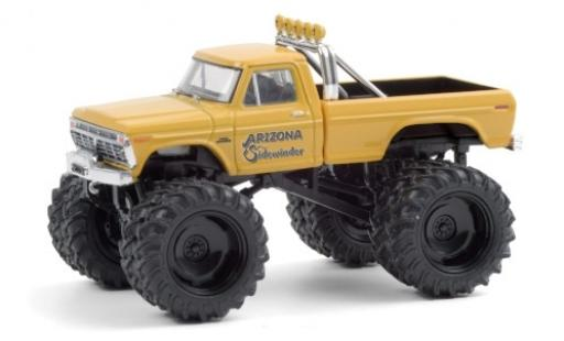 Ford F-250 1/64 Greenlight Monster Truck Arizona Sidewinder 1975 diecast model cars