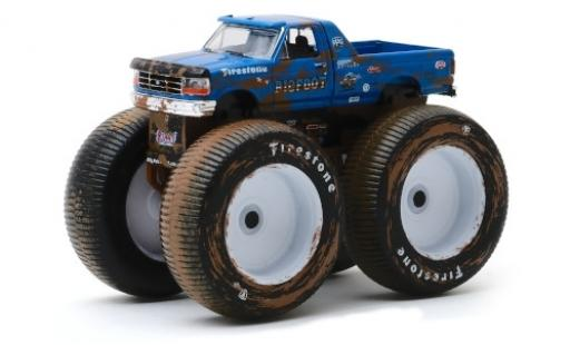 Ford F-250 1/64 Greenlight Monster Truck Bigfoot No.5 1996 miniatura