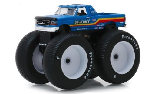 Ford F-250 1/64 Greenlight Monster Truck Bigfoot No.7 1996 modellautos