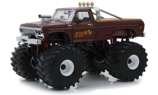 Ford F-250 1/43 Greenlight Monster Truck Goliath 1979 miniature