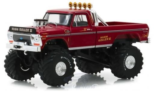 Ford F-250 1/43 Greenlight Monster Truck High Roller II 1979 miniature