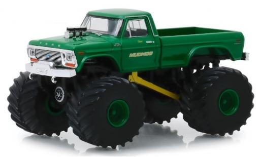 Ford F-250 1/64 Greenlight Monster Truck Mudhog 1979 miniature