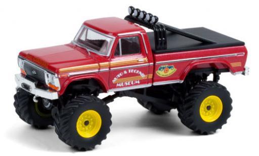 Ford F-250 1/64 Greenlight Monster Truck Super Monster 1979 miniature