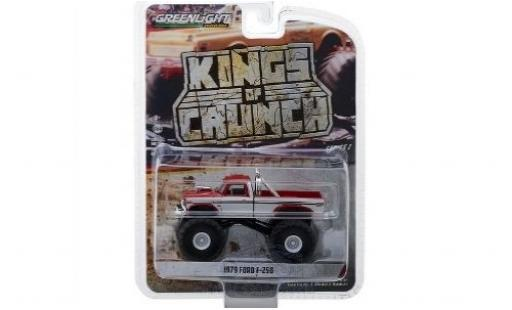 Ford F-250 1/64 Greenlight rouge/blanche 1979 miniature