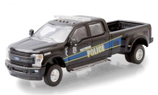 Ford F-350 1/64 Greenlight Lariat Baltimore Police Department 2019 miniature