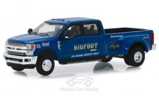 Ford F-350 1/64 Greenlight Lariat Bigfoot 2019 miniature