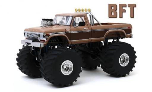 Ford F-350 1/18 Greenlight Monster Truck BFT 1978 diecast model cars