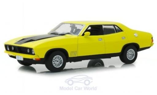 Ford Falcon 1/18 Greenlight XB GT351 jaune/noire RHD 1974 miniature