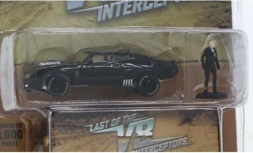 Ford Falcon 1/64 Greenlight XB noire The Last of the V8 Interceptors Madmax 1973 mit Figur miniature
