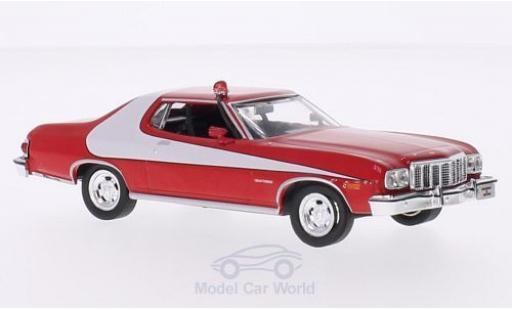 Ford Gran Torino 1/43 Greenlight rot/weiss 1976 Starsky & Hutch TV-Serie modellautos