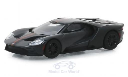 Ford GT 1/64 Greenlight grise 2019 miniature