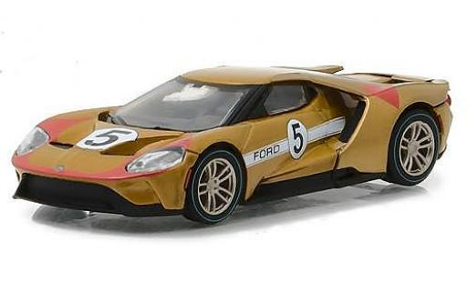 Ford GT 1/64 Greenlight metallise kupfer 2017 1966 #5 40 Mk II Tribute miniature