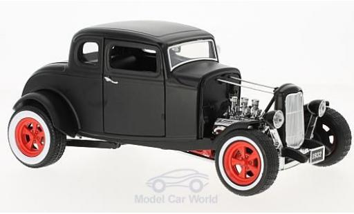 Ford Hot Rod 1/18 Greenlight Custom matt-negro 1932 coche miniatura