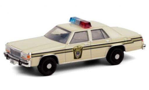Ford LTD 1/64 Greenlight Crown Victoria Ardis MD Police 1983 The X-Files (TV s�rie 1993-2000) Akte X miniature